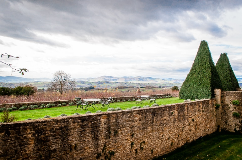 Special places to stay - garden views at the Chateau de Bagnols
