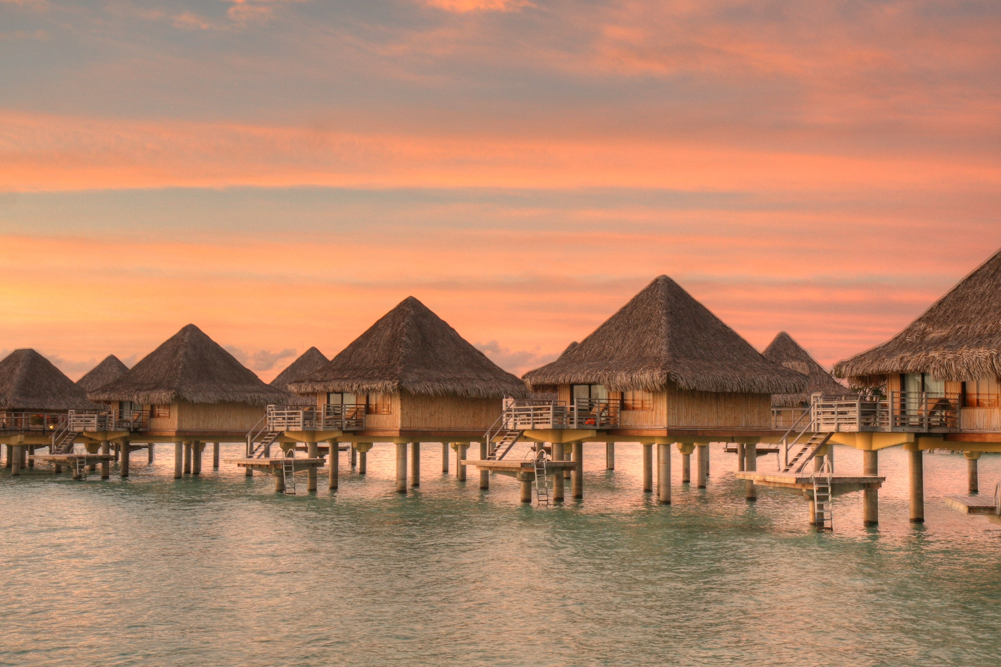 Where to go on holiday - make a water bungalow your accommodation of choice in Bora Bora I Pic SF Brit