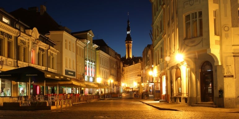 Where to go on holiday - Old Town Tallinn I Pic Mark Litwintschik