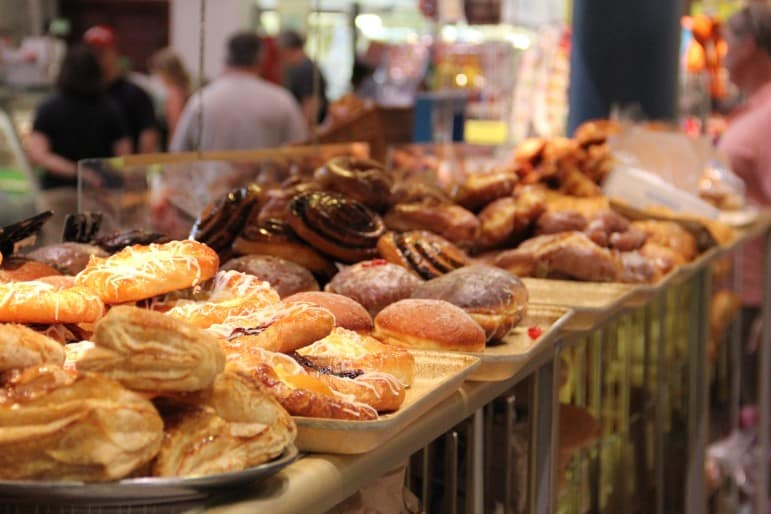 Where to go on holiday - Pastries at St Lawrence Market, a foodies delight I Pic John M