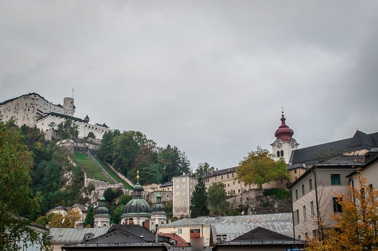 The Sound of Music songs are the sounds of beautiful Salzburg