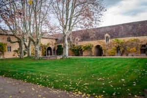 The grounds at Chateau de Bagnols