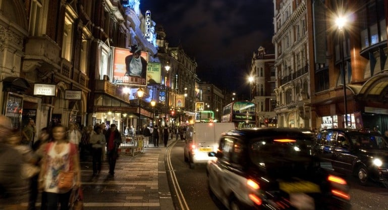 The west end is host to some of the finest shows in theatreland I Pic Andy Bird