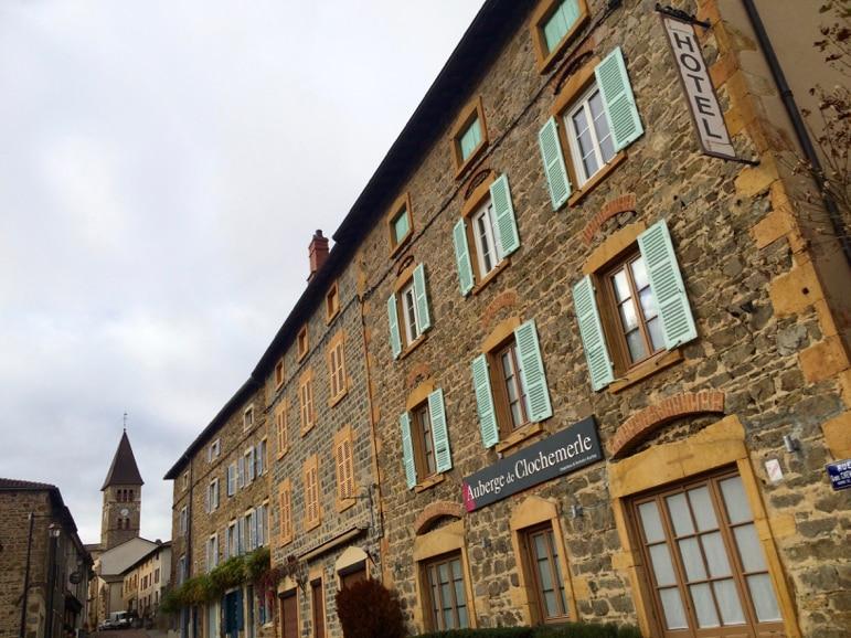 Auberge de Clochmerle in the French wine region of Beaujolais