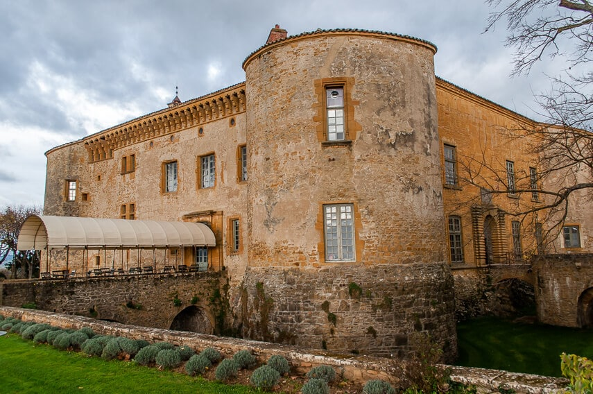 Château de Bagnols is a place to stay for Beaujolais Nouveau Day