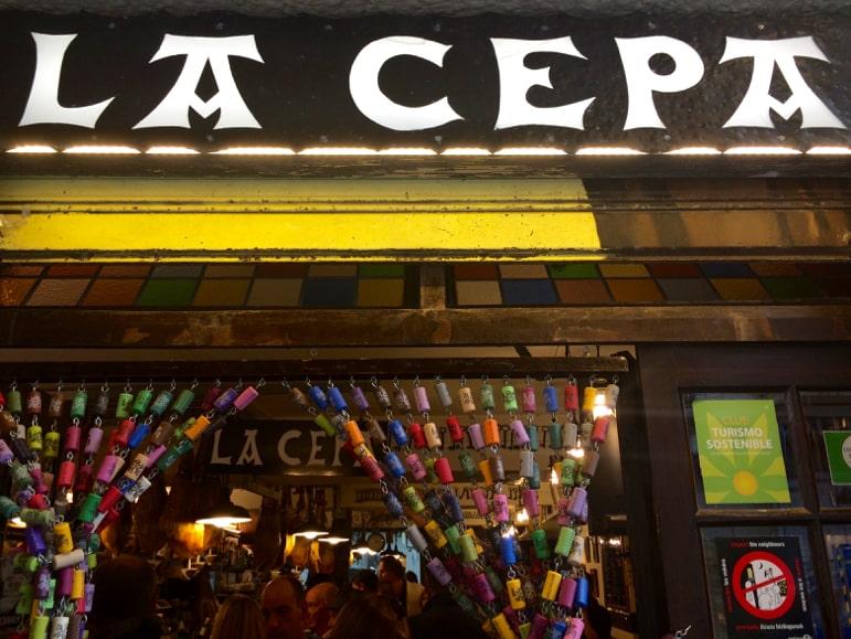 La Cepa pintxos restaurant in San Sebastian, European Capital of Culture 2016