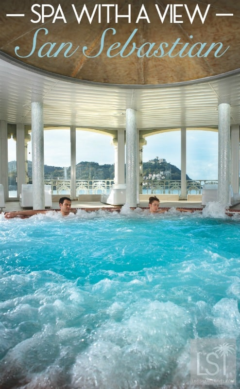 La Perla Spa in San Sebastian is a spa with a view and lots of heritage in a European Capital of Culture