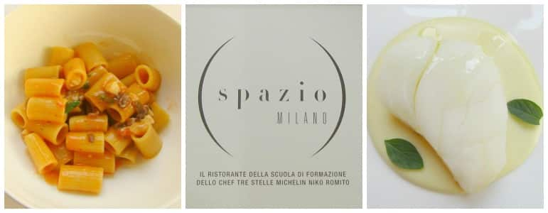 Things to do in Milan - the very popular Spazio Milano provides inspired dishes with the views to match