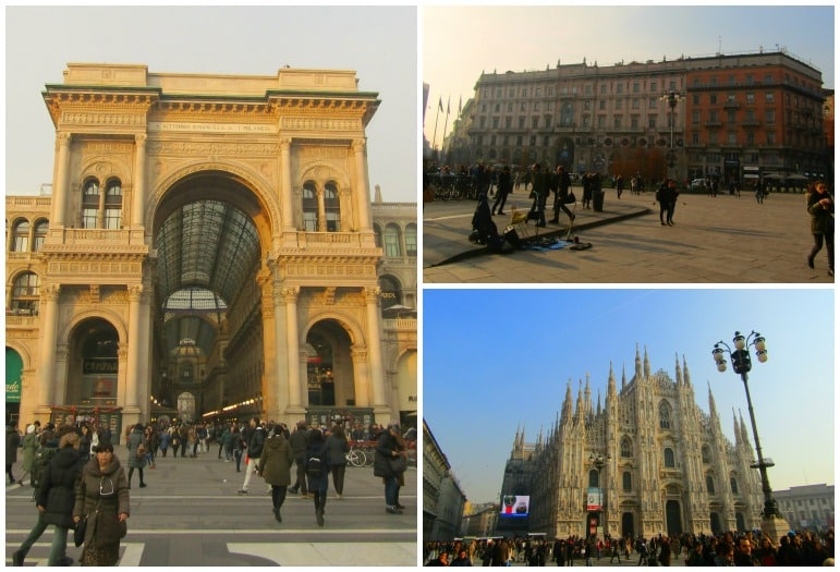 Things to do in Milan - visit Piazza del Duomo to watch the world go by and marvel at Milan's architecture