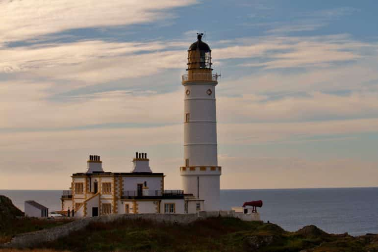 Unusual travel destinations - Corsewall Lighthouse in Galloway is the ideal base for exploring the Scottish region of Dumfries and Galloway Pic Andy Muir