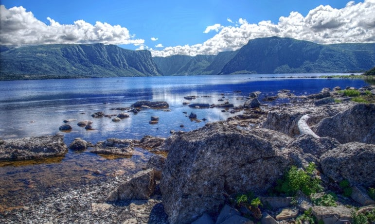 Fjord in Gros Morne National Park Pic Emmanual Milou