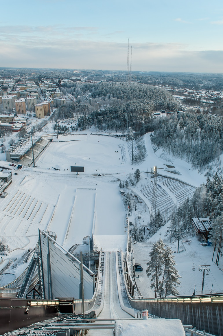 International ski jump in Lahti
