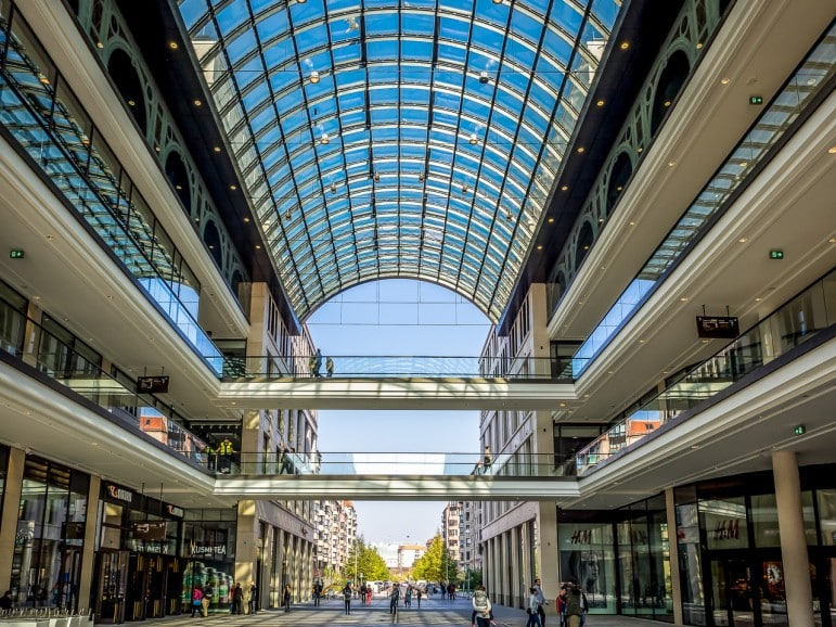 For mega shopping, the Mall of Berlin is the ultimate place to go while in the city | Pic: K.H.Reichert