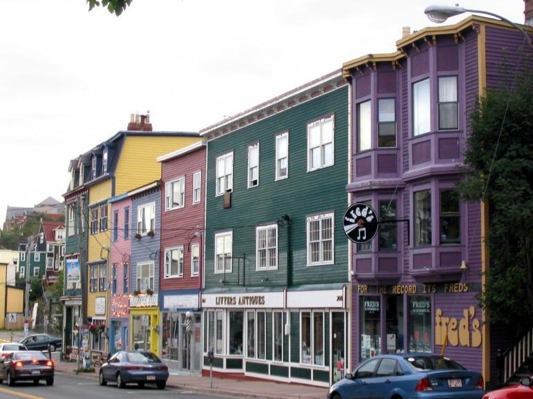 Newfoundland shops Pic wikimedia