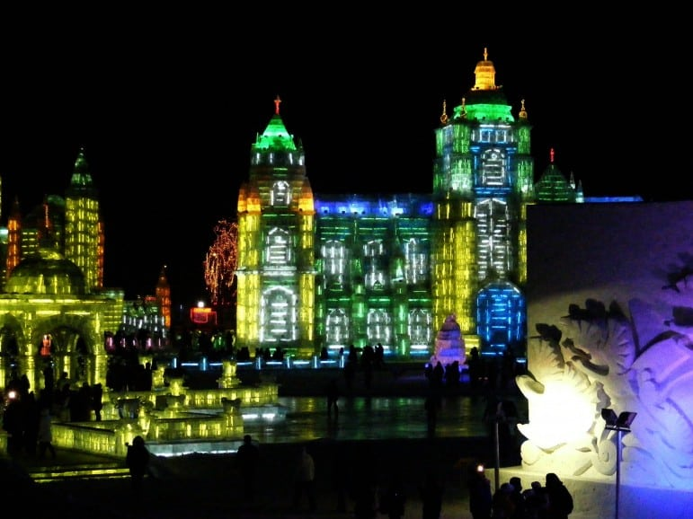 Festivals around the world - Harbin Ice and Snow Sculpture Festival in China | Pic: Rincewind42