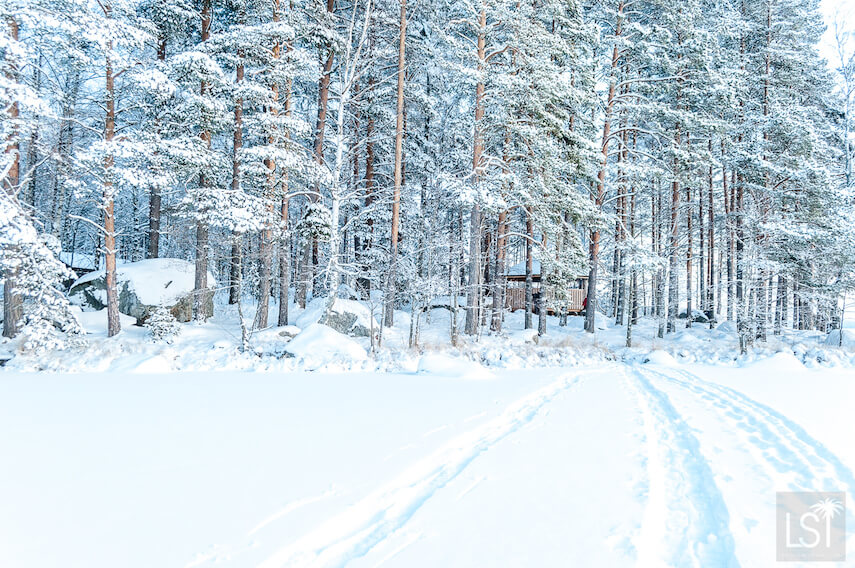 The sparkle of winter in Finland's Lahti region