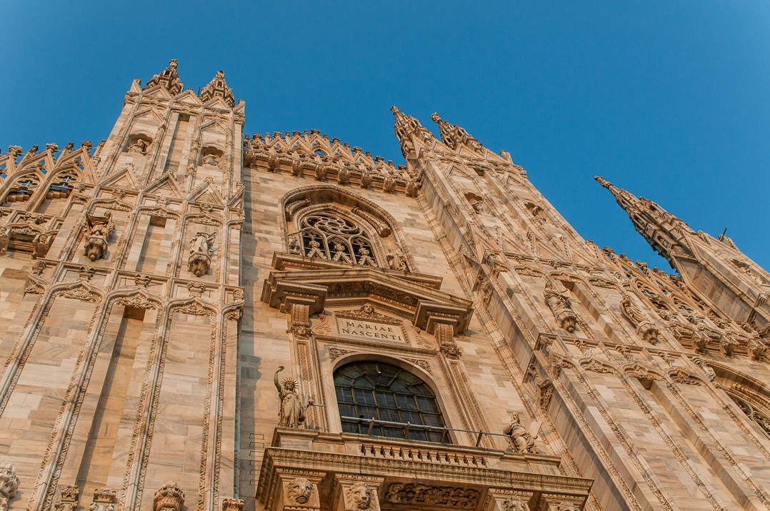 Things to do in Milan - visit the duomo
