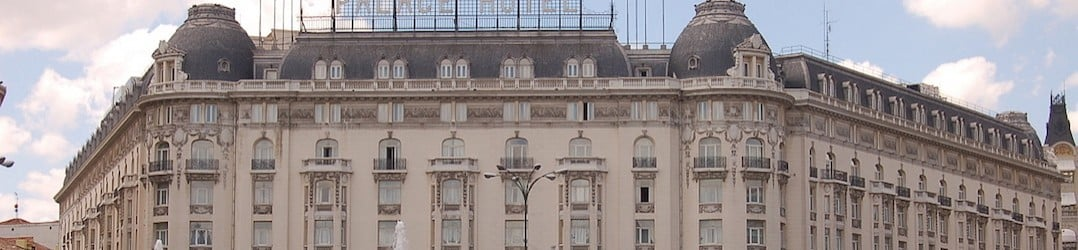 Where to stay in Madrid - places to stay in Madrid for a luxury break - the Westin Palace Hotel