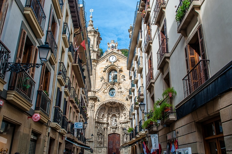 Basilica of Santa Maria, in European Capital of Culture, San Seb