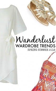 Spring and summer wardrobe essentials
