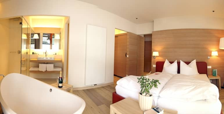 Bedroom at the Edelweiss Residences
