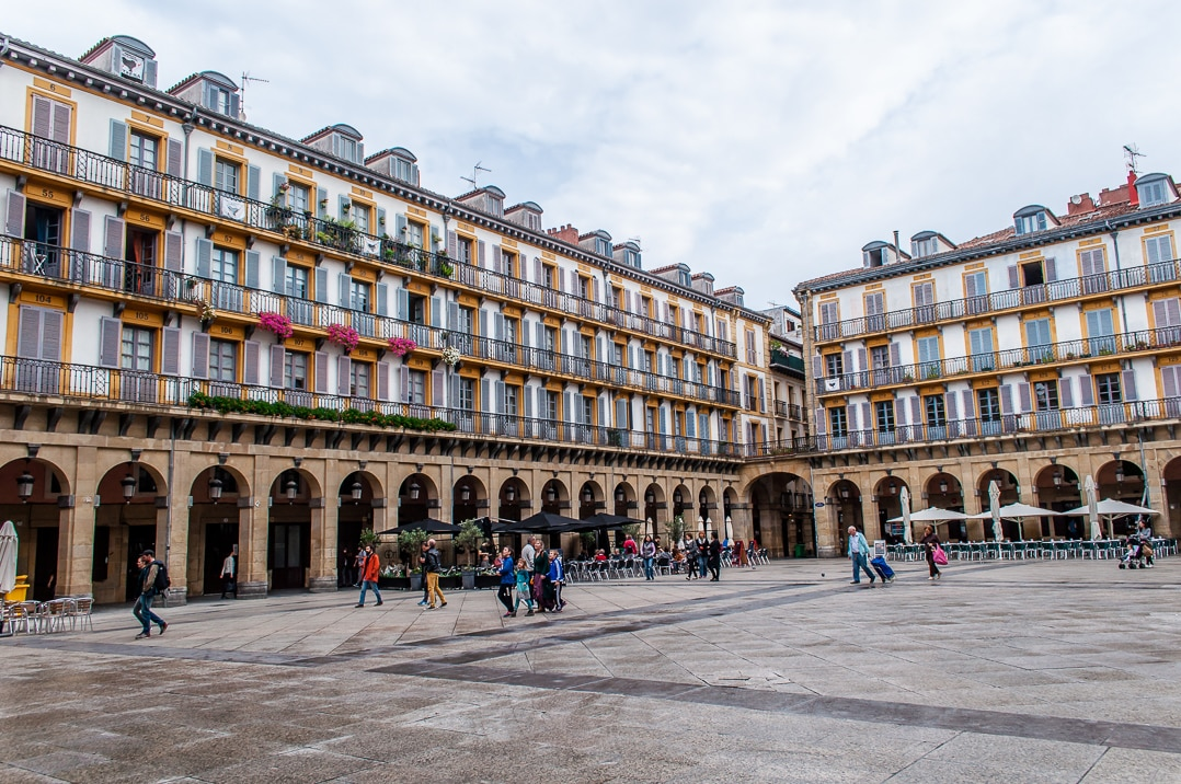 European Capital of Culture, San Sebastian - Plaza de la Constitution