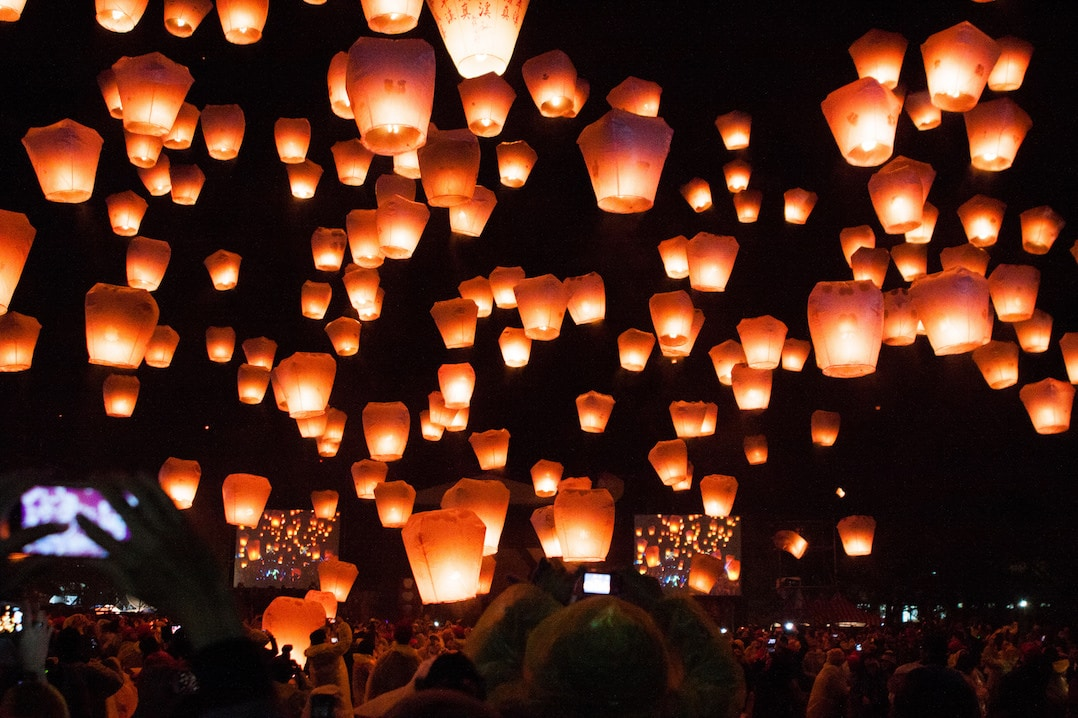 Festivals around the world - the Pingxi Lantern Festival in Taiwan | Pic Jirka Matousek