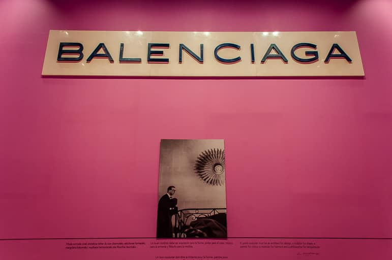 Learn about the life and craft of fashion designer Balenciaga in