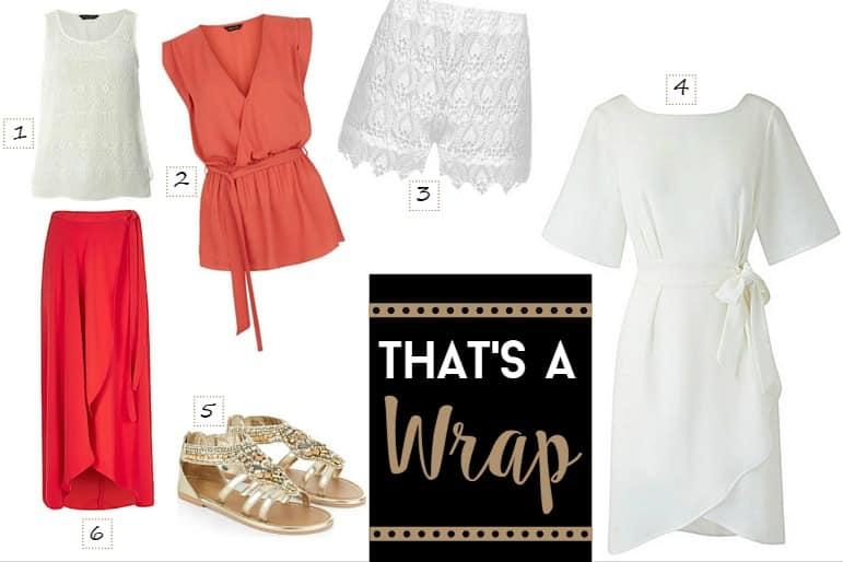 Spring and summer wardrobe essentials - wraps