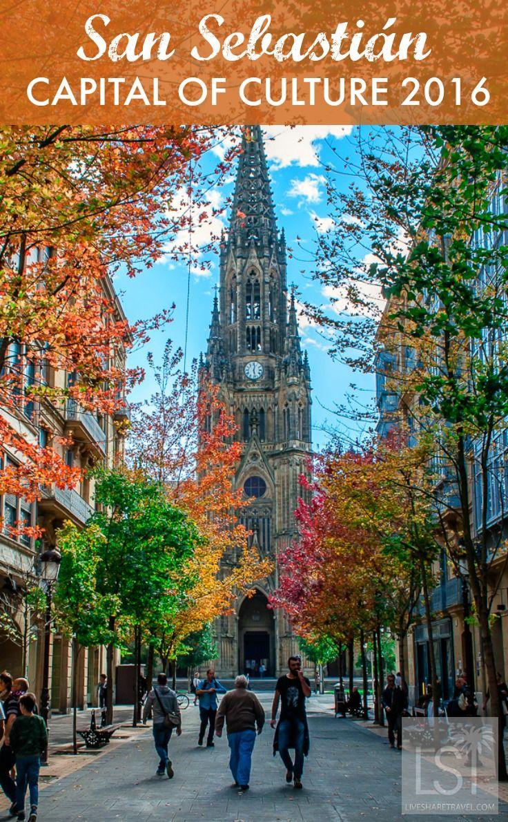 San Sebastian in Spain is this year's European Capital of Culture