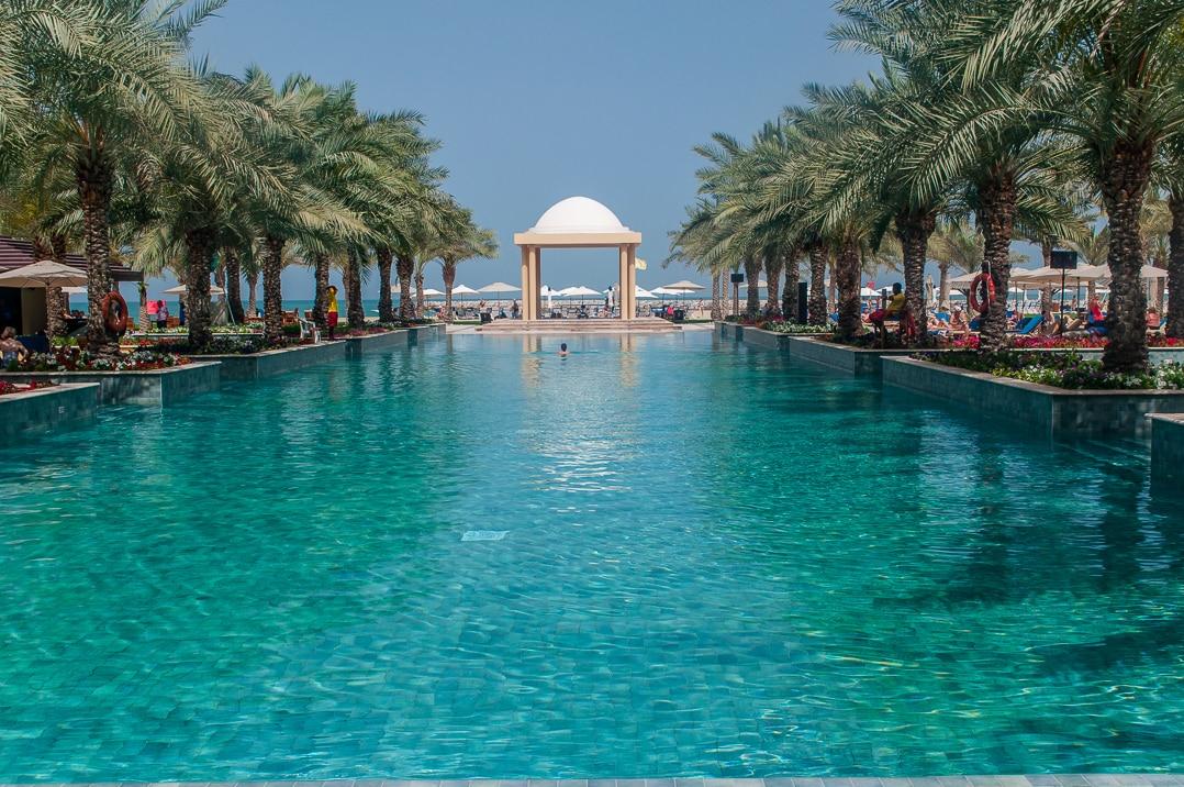 Swimming pool at the Hilton Ras Al Khaimah Resort & Spa