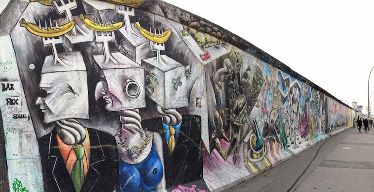 Things to do in Berlin - visit the East Side Gallery