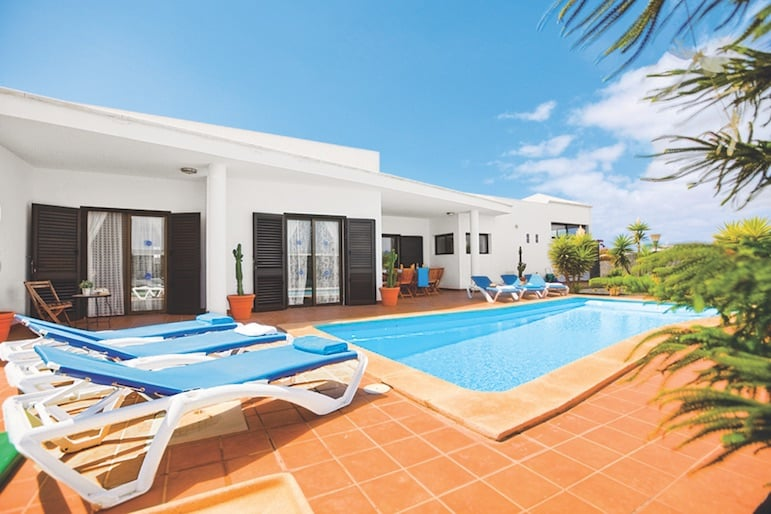 Casa Solace swimming pool