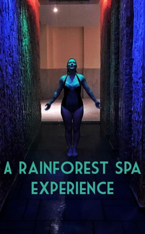 Luxury spa and rainforest spa experiences