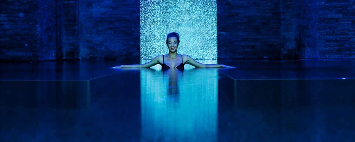 Rainforest spa at Banyan Tree Al Wadi, Ras Al Khaimah