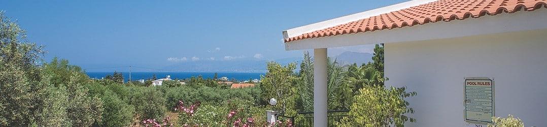 Sea view at Katerina Villa
