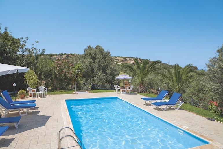 Swmming pool at Katerina Villa