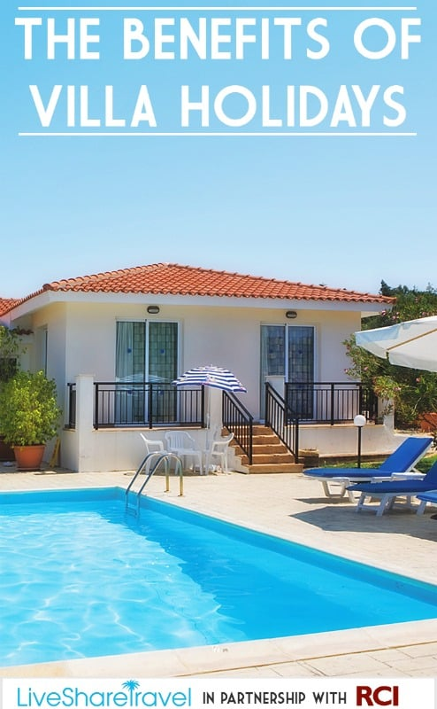 The benefits of villa holidays when you travel to destinations round the world with James Villa Holidays
