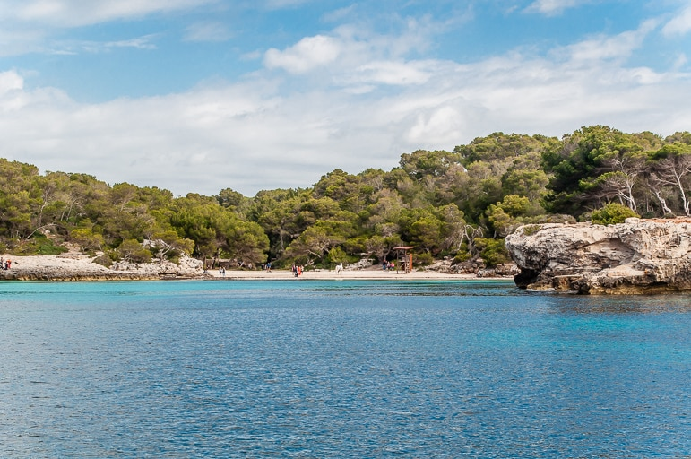Holidays to Menorca provide views like this