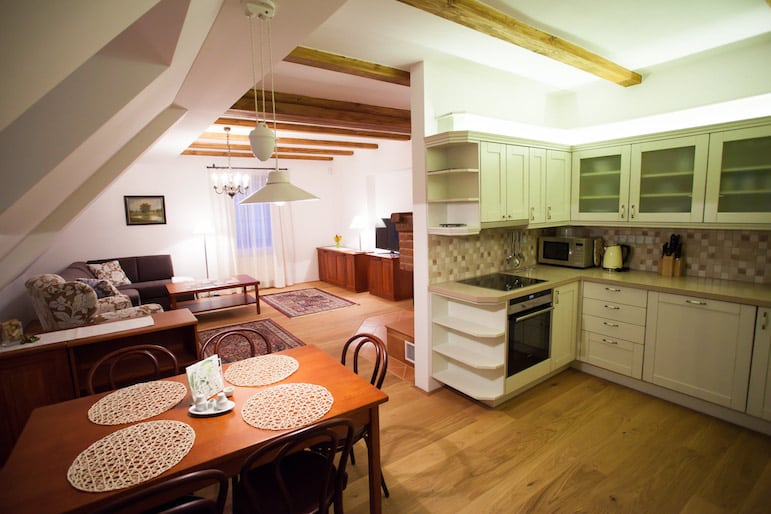 Apartment at Golden Prague Resort Salabka in the RCI resorts network