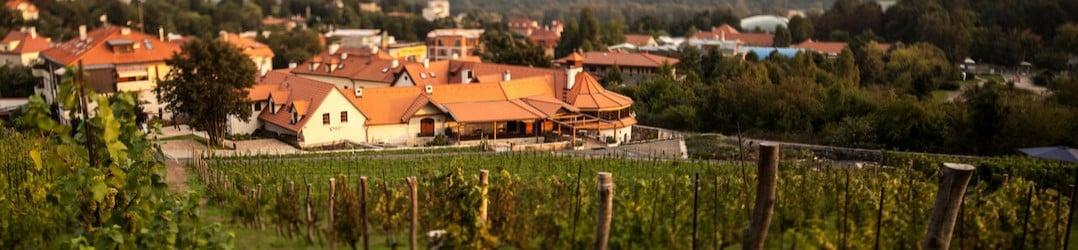 Landscape around Golden Prague Resort Salabka