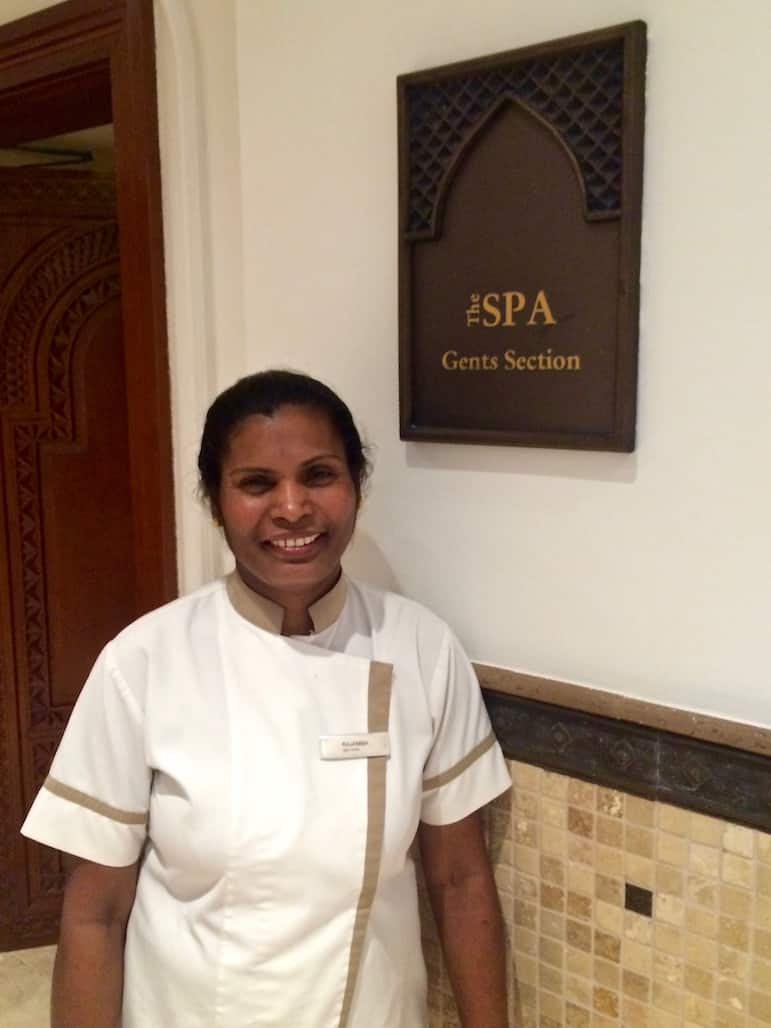 Luxury spa - Rajama at Hilton Resort & Spa, Ras Al Khaimah