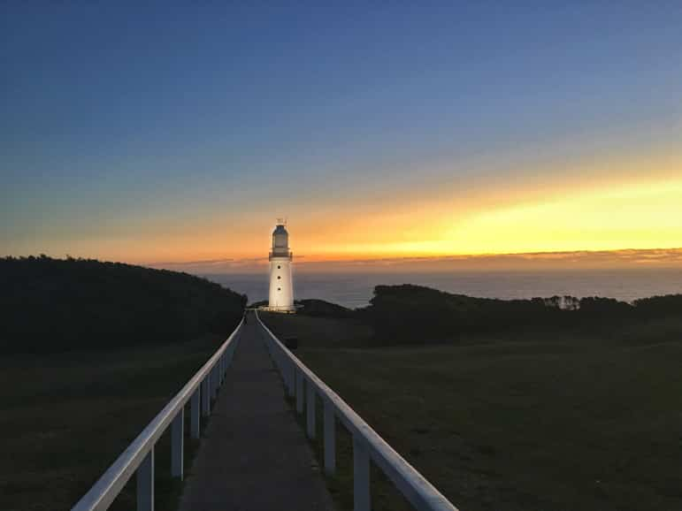 Melbourne to the Great Ocean Road itinerary - Cape Otway lighthouse