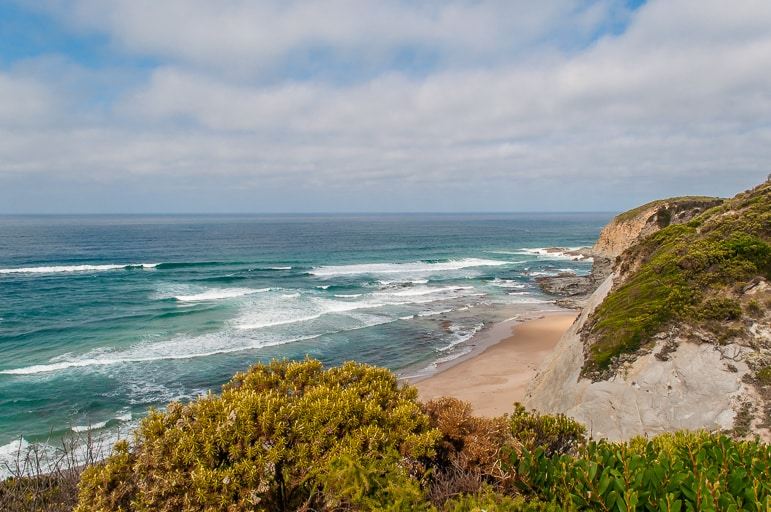 Melbourne to the Great Ocean Road itinerary -Castle Cove, part of the Great Ocean Walk