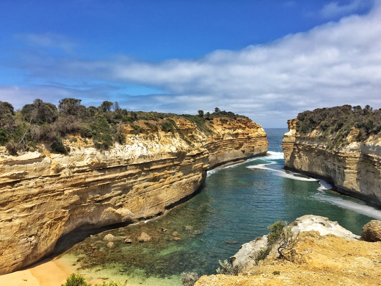 Melbourne to the Great Ocean Road itinerary - Loch Ard Gorge