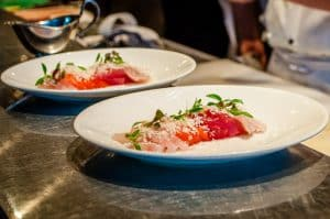 Melbourne to the Great Ocean Road itinerary - dinner at Rockpool in Melbourne is a must