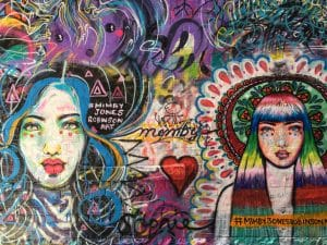 Melbourne to the Great Ocean Road itinerary - street art in Melbourne