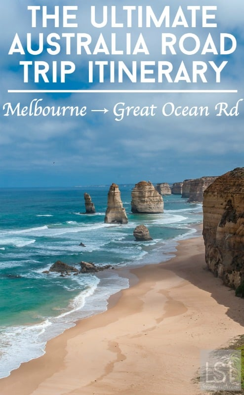 An Australia road trip itinerary from Melbourne, including the Great Ocean Road, The Grampians and rural Victoria - adventure, culture, sights and food.