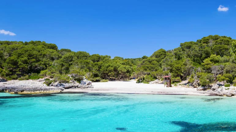 Best Menorca beaches - Cala Turqueta