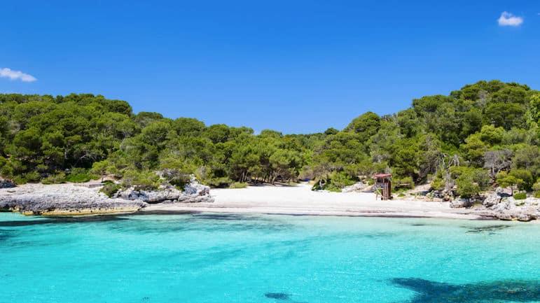Menorca beaches - Cala Turqueta